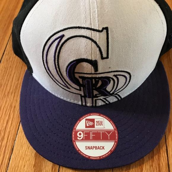 5272b805b8c New Era Colorado Rockies Snapback Hat NWT